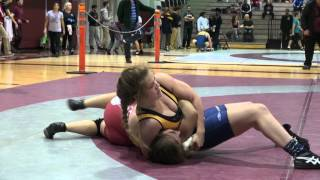 2015 McMaster FW55kg Kelsey Larkin (Brock)  vs Taylor Richard (Laurentian)