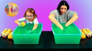 GELLI BAFF VS LOL SURPRISE CHALLENGE (TOY LIL SISTERS) || TOP AMELI TVIT