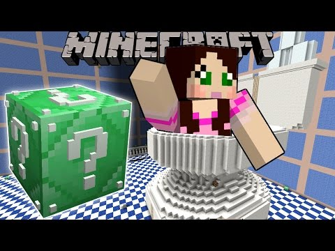Minecraft: GIANT TOILET HUNGER GAMES - Lucky Block Mod - Modded Mini-Game