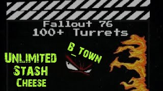 Fallout 76 Unlimited Turrets