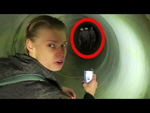 7 SCARIEST Moments Caught on Camera in TUNNELS