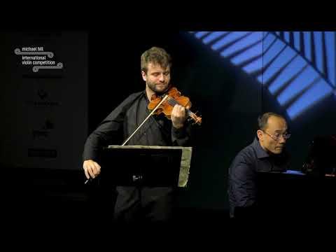 MHIVC 2019 Round 2: Matthias Well (Brahms: Sonata No 3 in D minor, Op 108)
