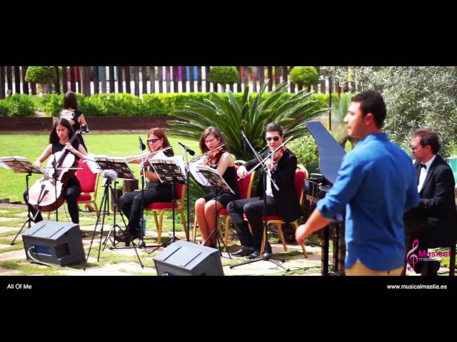 All Of Me John Legend piano & string quartet Finca Buenavista Bodas Murcia