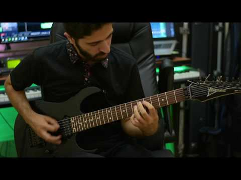 Ibanez RG7421 Playthrough