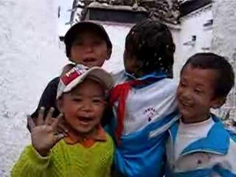 Hello and Pish Pash From Shigatze, Tibet