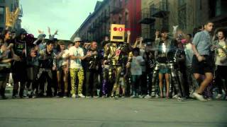 CONTINUOUS Robot Spongebob  Shuffle - Party Rock Anthem LMFAO