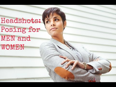 How to Pose for Headshots- Easy to understand Basic Tips