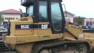 caterpillar 953C track loader