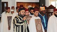 فقرة دخول الطلبة الخاتمين للقراءات بمدرسة ابن القاضي وهم يحملون ألواحهم على الطريقة المغربية 2017