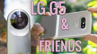 LG G5 review with Friends