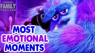 Most EMOTIONAL Moments from Animated Family Movies