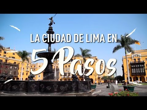 ¡5 pasos para sumergirse en la ecléctica ciudad de Lima!