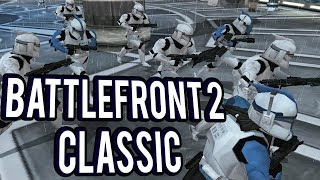 BATTLE OF KAMINO! STORM TROOPERS VS REBELS  - Star Wars Battlefront 2 Classic 2005