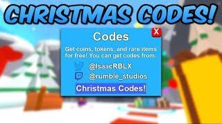 *NEW* ALL NEW CHRISTMAS CODES! (Roblox Mining Simulator)