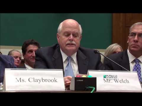 Peter Welch testifies on Capitol Hill