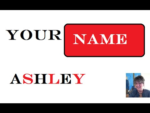 Ashley 1st Name Meaning