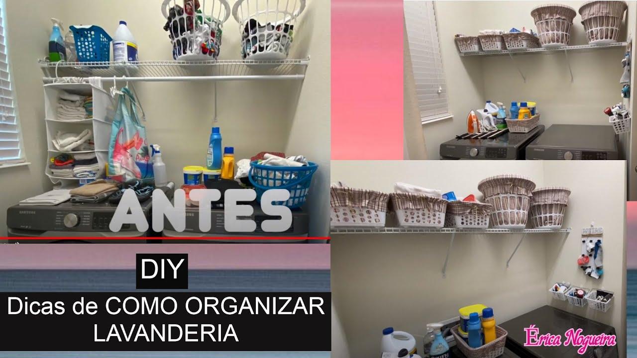 Dicas de como organizar lavanderia DIY