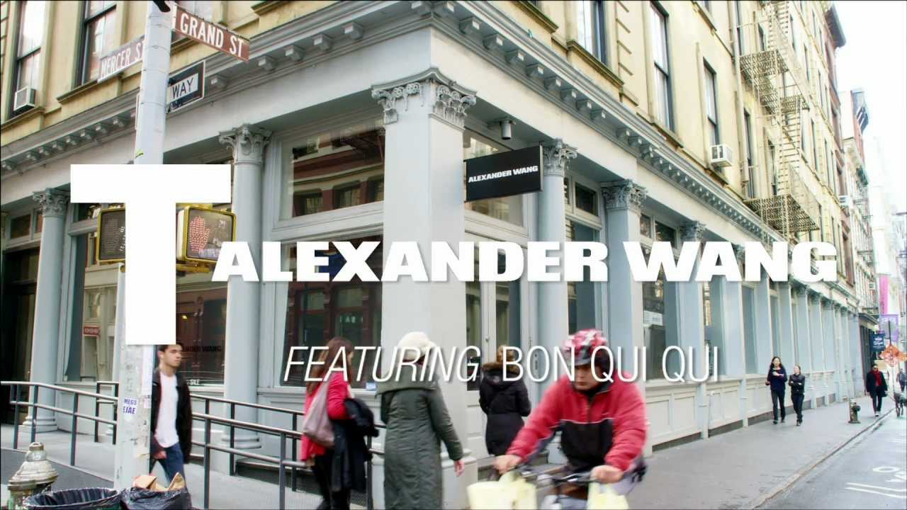 t by alexander wang spring 2013 feat bon qui qui youtube. Black Bedroom Furniture Sets. Home Design Ideas