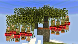 MINECRAFT But ANIMALS and VILLAGERS are Actually Plants - I Am Khaleel