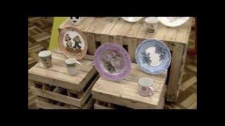 Artesanato – Decoupage em porcelana