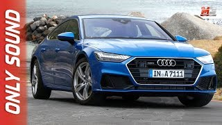 New audi A7 sportback 2018 - sudafrica - first test drive only sound