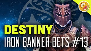 destiny iron banner bets 13 the dream team the taken king funny gaming moments