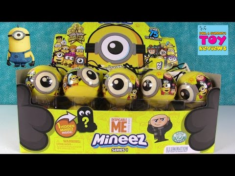 Thumbnail: Minions Mineez Despicable Me Squishy Blind Bag Figures Toy Unboxing | PSToyReviews
