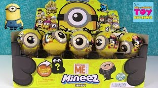 Minions Mineez Despicable Me Squishy Blind Bag Figures Toy Unboxing | PSToyReviews