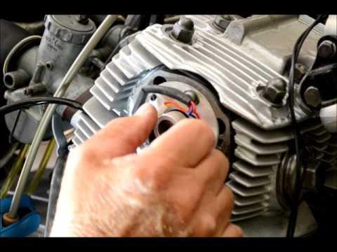 Installing TYTRONIC elec ignition on Honda CB/CL 72/77 engine - YouTube