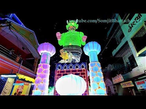 Chandannagar Jagadhatri Puja Procession 2018   | Helapukur | Amazing Jagadhatri Procession 2018