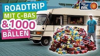 BASKETBALL ROADTRIP | C-BAS verteilt 1000 Basketbälle | easyCredit Basketball Bundesliga