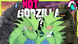 TYRANITAR! and other kaiju pokemon too, i guess.   Gnoggin - Origins of Tyranitar Explained!