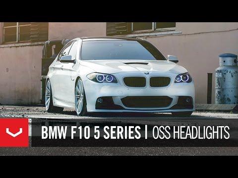 "BMW F10 5 Series 550i on 20"" Vossen VVS-CV4 Concave Wheels / Rims"