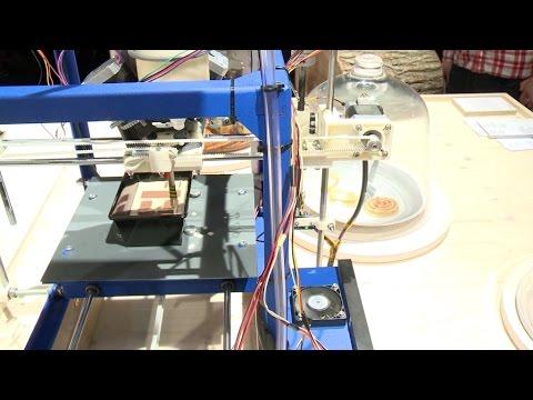 0 - 3D-Bilderkuchen: Daniel Wilkens entwickelt Pastenextruder zum 3D-Druck von individuellem Marmorkuchen