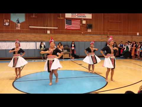 Hmong Dance at Luther Burbank High School 2015