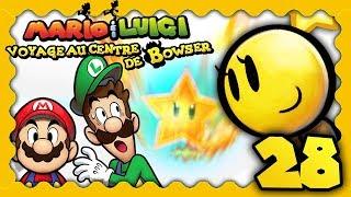 MARIO & LUIGI VOYAGE AU CENTRE DE BOWSER 3DS #28 - LA SUPER ATTAQUE D'ÉTOILE D'OR ! thumbnail