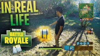 Fortnite: Battle Royale *IN REAL LIFE*