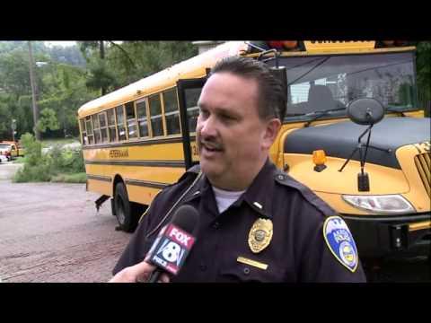 Akron school bus driver dies saving child