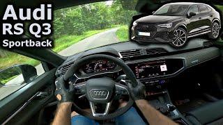 2021 Audi RS Q3 Sportback | POV test drive | #DrivingCars