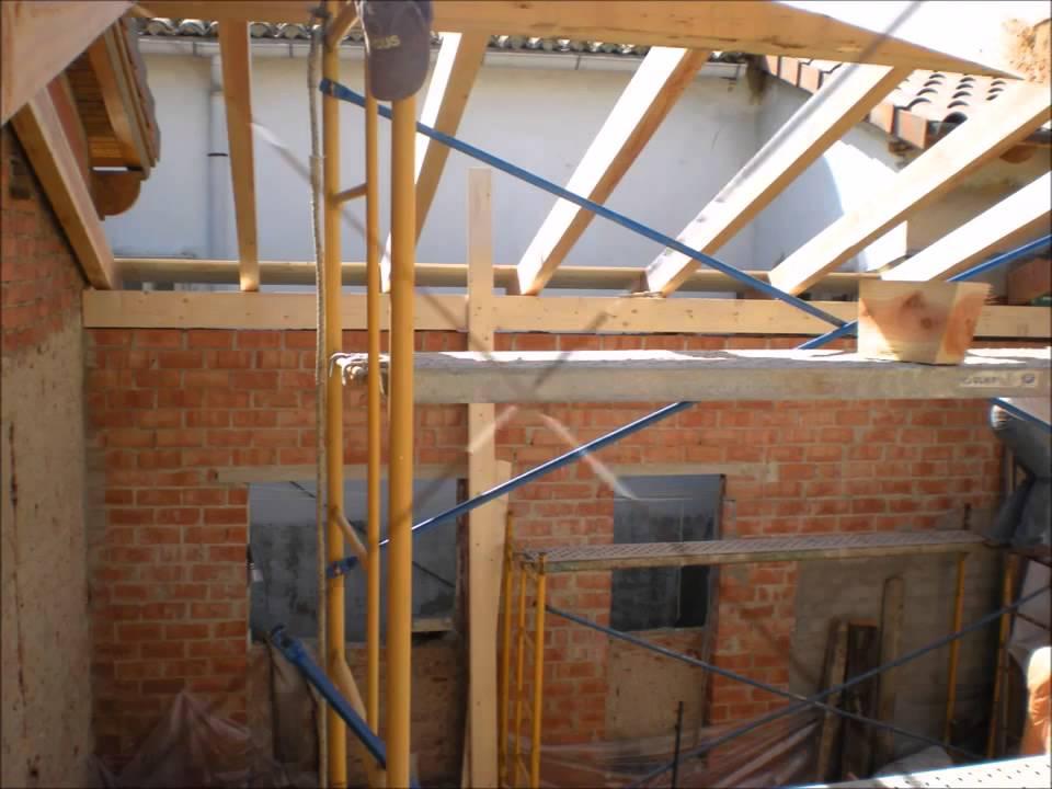 Tejados de madera laminada tejados de madera tejados de - Estructura tejado madera ...