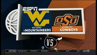 NCAAB 12 29 2017 West Virginia at Oklahoma State 720p60