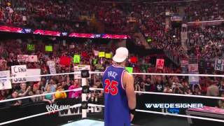 2012  WWE John Cena Returns As  Doctor Of Thuganomics    WWE RAW 03 12 12 HD