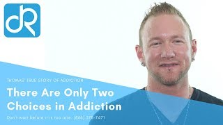 With Addiction You Have Two Choices l Levi's True Story of Addiction
