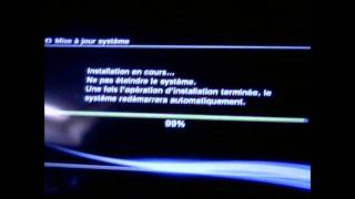 (PS3)Probleme mise a jour + recovery mode