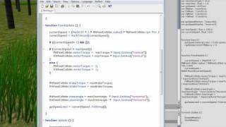 #11a Unity3D Tutorial Scripting mit WheelCollidern