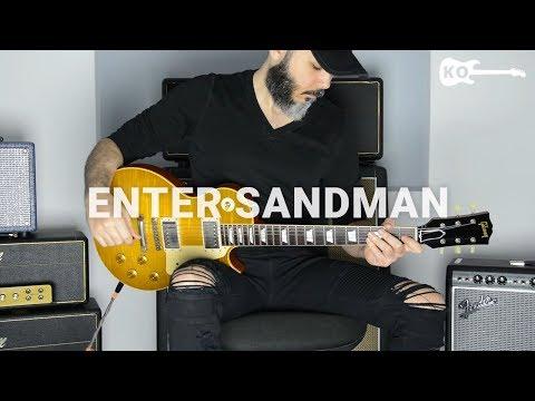 Metallica – Enter Sandman – Electric Guitar Cover by Kfir Ochaion