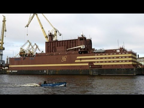 BREAKING ! Russia Deploys Massive Floating Nuclear Power Plant Towards The Bearings Straight.....