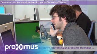 Proximus recrute 25 Techniciens Télécom !