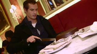 Andy Murray im Café Sacher