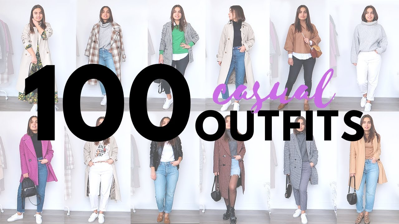 AFFORDABLE CASUAL SPRING OUTFITS 2019   100 IDEAS   Lookbook Try On 2